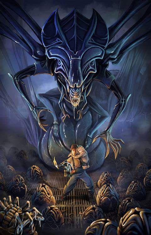 Aliens Alien Vs. Predator Xenomorph Creature Horror