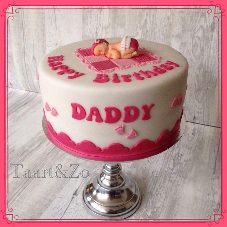 Verjaardag aanstaande papa taart