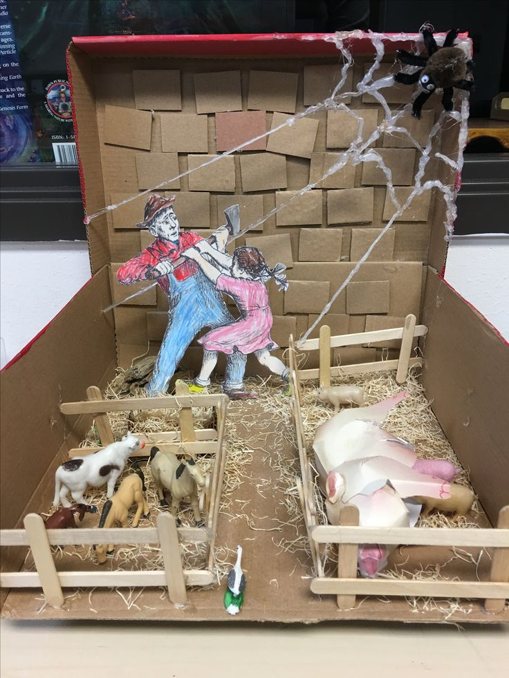 Kids Diorama With Details: The 25+ Best Charlotte's Web Ideas On Pinterest