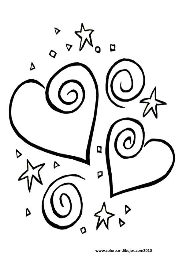 dibujos-para-colorear-de-corazones-1.jpg (595×842)