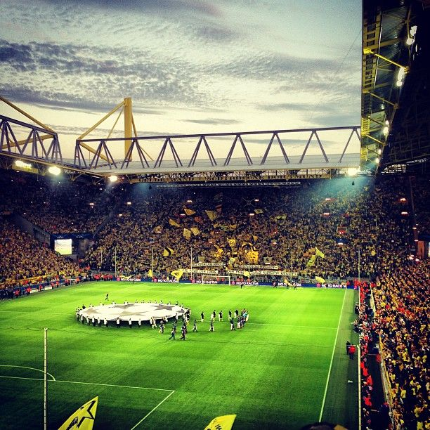 Image result for signal iduna park yellow wall