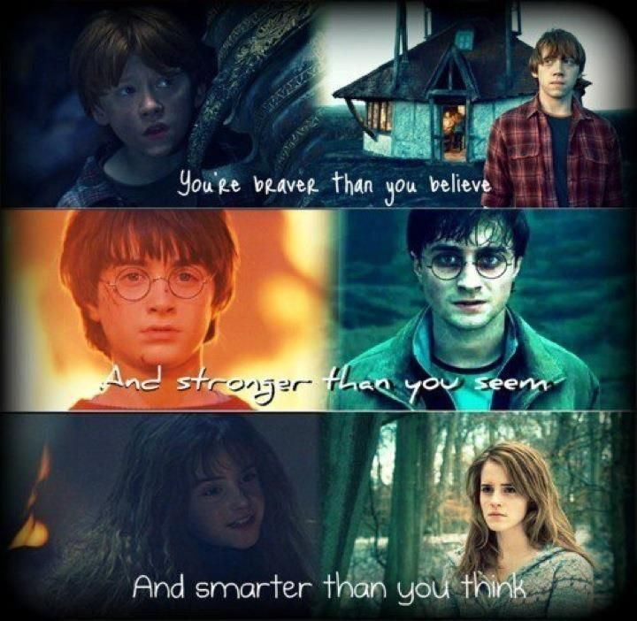 harry potter hermione granger and ron weasley | harry potter, hermione granger, ron weasley | My Girl