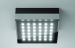 Glare free LED suface mount with beautiful geometry
