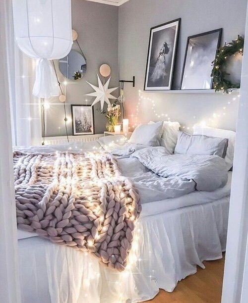 bedroom, home, and light