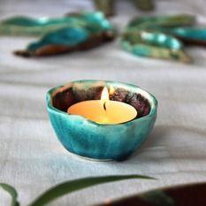 Autorská keramika, Miska, rôzne farby a tvary, priemer cca 7 cm, výška cca 3 cm, 5,50 €