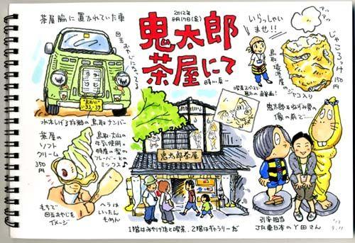 """トキシン tokishin--鬼太郎茶屋の画像:トキシンのイラストレーター的""""沖縄""""生活"""