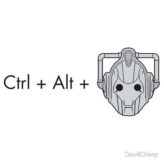 Ctrl + Alt + DELETE by DevilChimp