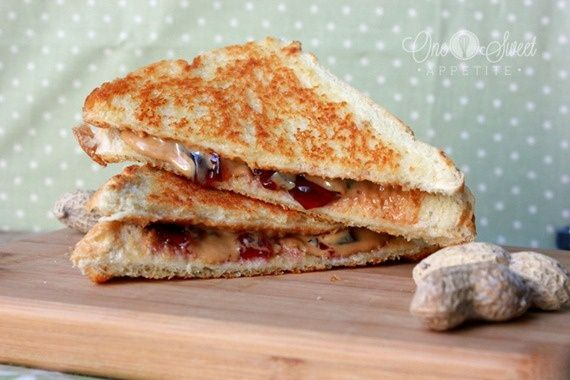 grilled peanut butter and jelly. | Mmmm | Pinterest