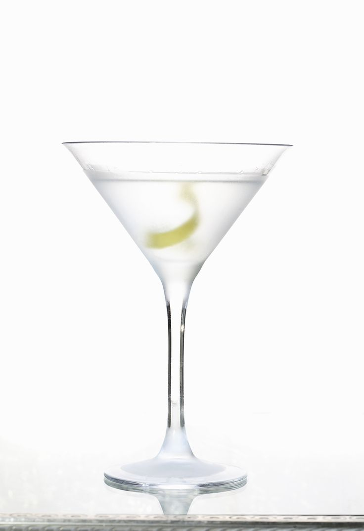The key to the Diamond Martini is to keep it cold, really cold! Hey, if there's a ring in my vodka, I'm good with that, too!