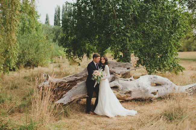 Elegant Rustic Wedding in Washington: Lena + Sergey !