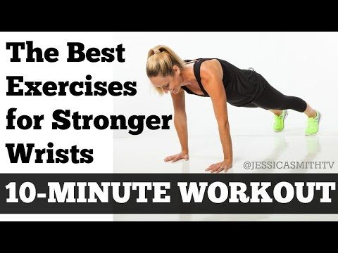 6 Strength and Flexibility Exercises to help prevent Wrist Pain during a Workout – This basic, wrist focused routine is designed to help you build strength, range of motion and flexibility in the muscles that surround and support your wrists