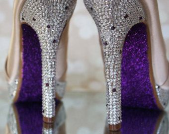 Champagne Wedding Shoes Champagne by EllieWrenWeddingShoe on Etsy