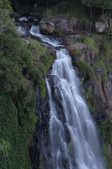 Moran Falls up at O'Reillys in the Hinterland of the Gold Coast.  (Queensland Australia)