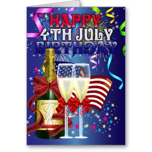 4th July Birthday