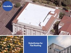 Substitutes for Flat Roofing  #roofing #flatroofing #sustainable #substitutes