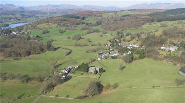lake district near far sawrey