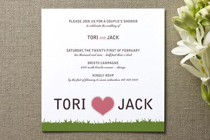 12 best images about cute couples shower invitations on for Wedding couples shower invitations