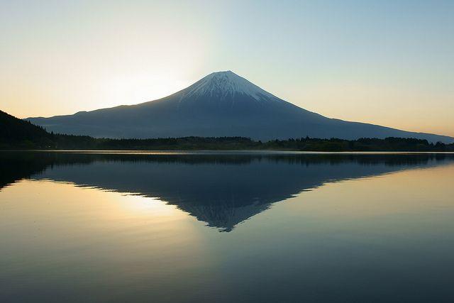 Mt.Fuji reflection