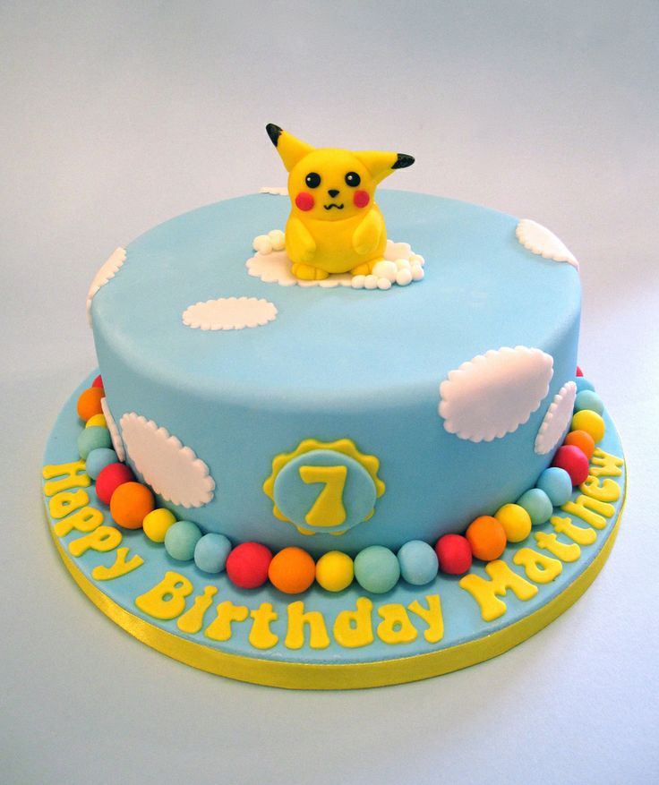 pikachu birthday cake 17 best images about cakes on 6524