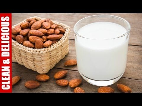 Stop buying almond milk, it's full of junk (sugar, carrageenan) & may be only 2% almonds! Here's how to make it homemade with organic almonds