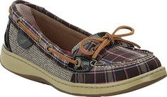 Sperry Top-Sider Angelfish Boat Shoe - Linen/Platinum Metallic Mesh with FREE Shipping & Returns. Signature Sperry Topsider styling with a feminine twist. Features genuine