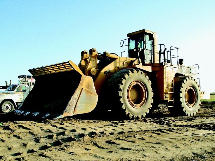 Caterpillar 992C wheel loader 690hp,12.5 yards,198,000 lbs