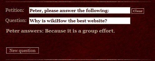 How to Use Peter Answers -- via wikiHow.com