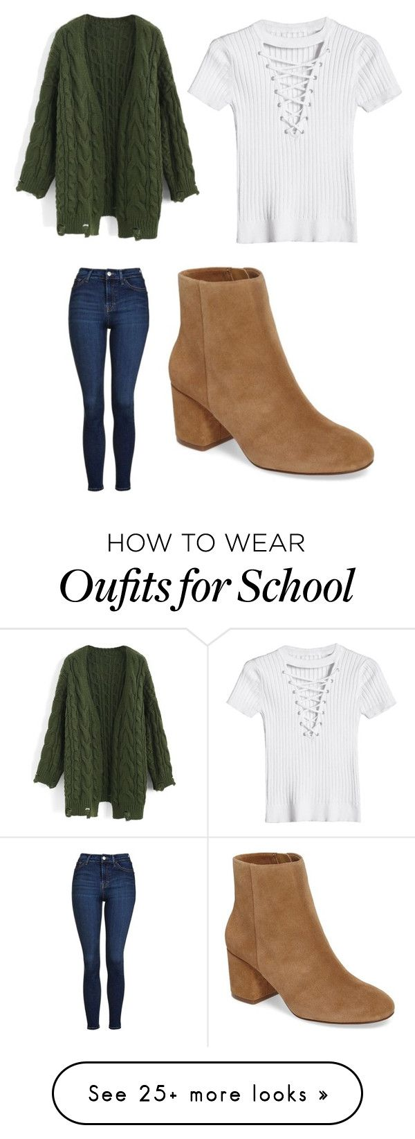 """still dredingng school... stupid auto correct"" by tennisplayingmaniac on Polyvore featuring Chicwish, Topshop and Splendid"
