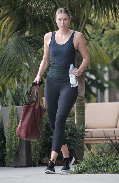 Image result for maria sharapova in leggings   Maria ...
