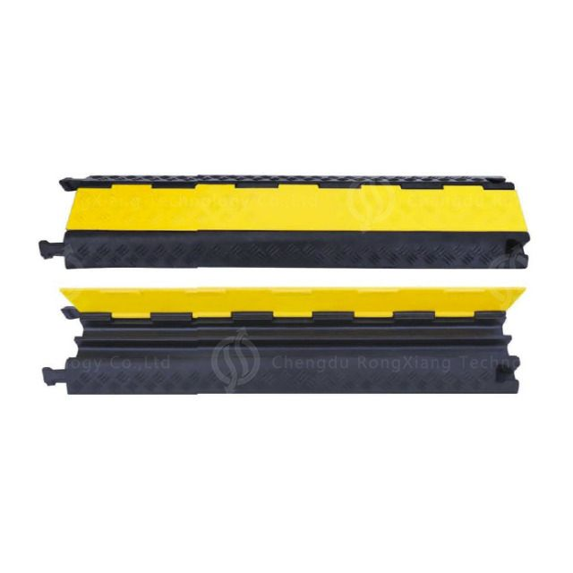 Hot Selling 7kg 1meter 2 Channel Rubber Cable Protector