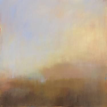 """Saatchi Art Artist Jacquie Gouveia; Painting, """"Misty View from Above"""" #art"""