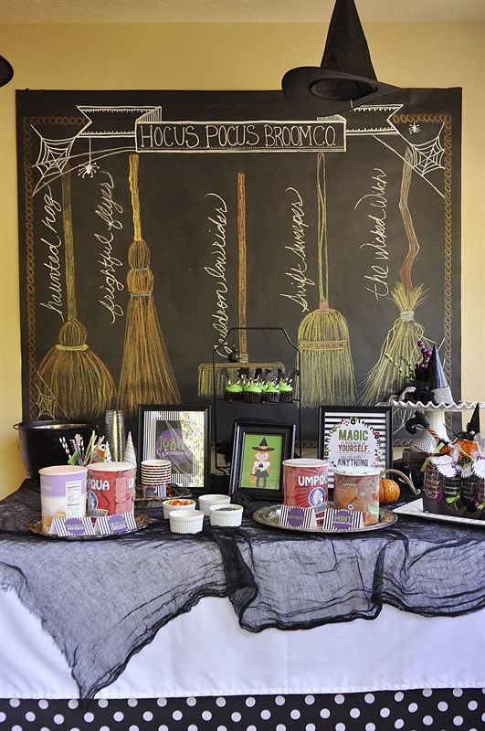 Halloween party, ice cream party, wtiches, Activity Day