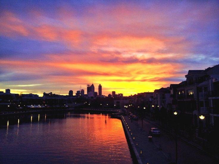 Perth skyline from East Perth. #travelnewhorizons