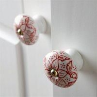 Image of Pack Of 2 Ceramic Door Knobs