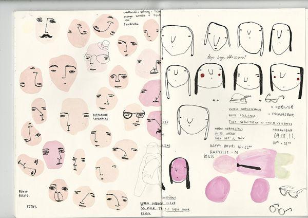 Kjersti Johanne Barli | #Sketchbook #Caracters