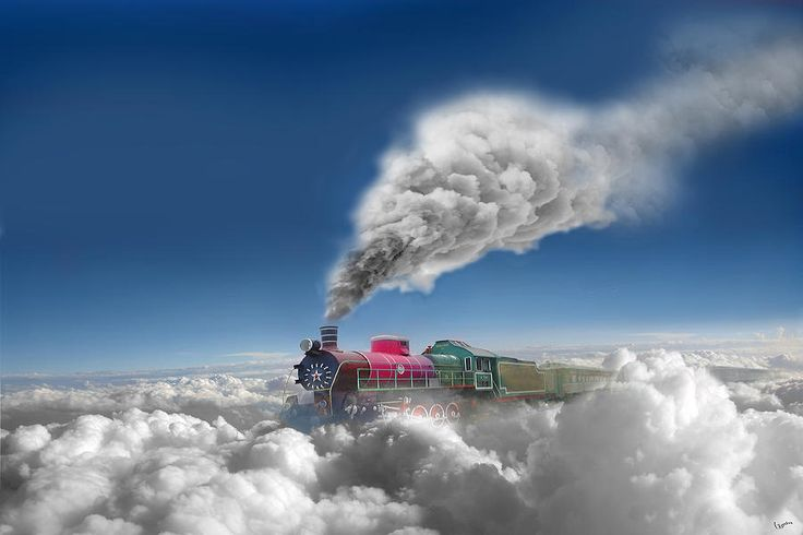 Clouds Photograph - Sky Express by Igor Zenin