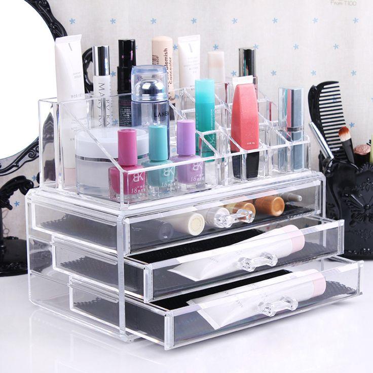 Best Makeup Organizer Ideas. M s de 25 ideas incre bles sobre Large acrylic makeup organizer en