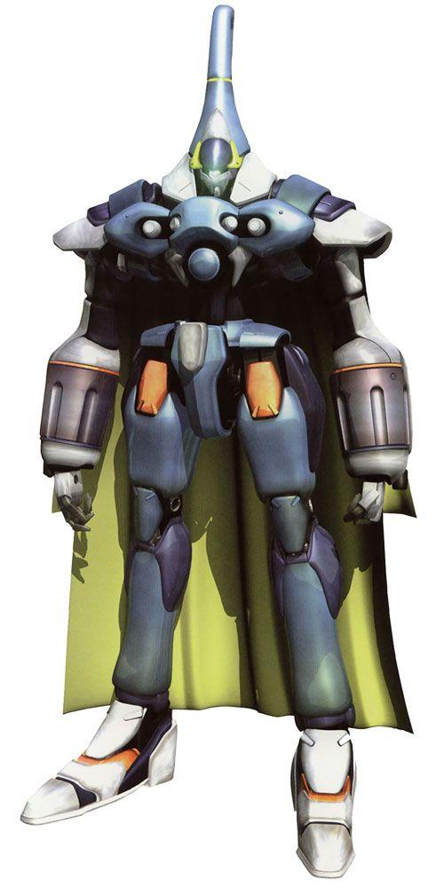 Renmazuo (Billy's Gear) from Xenogears | Mecha (Ornate ...