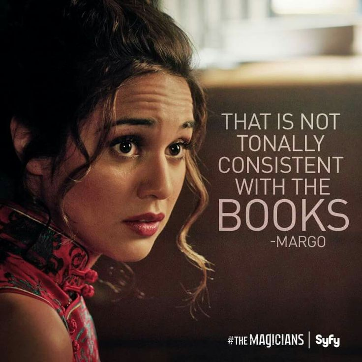 The Magicians Margo Quotes