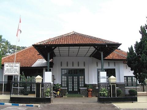 Gedung Perundingan Linggarjati at Kuningan, Jawa Barat, Indonesia