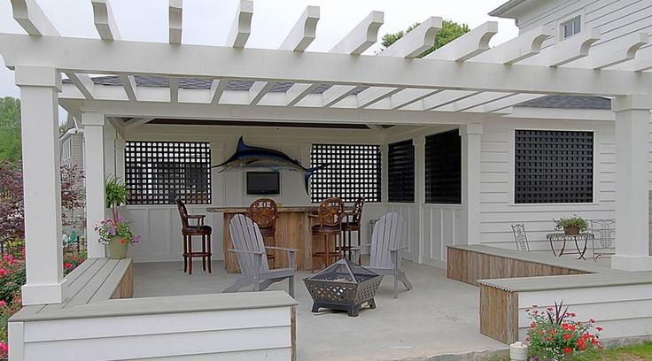 Modern Carport Makeover : Images about carport makeover on pinterest patio