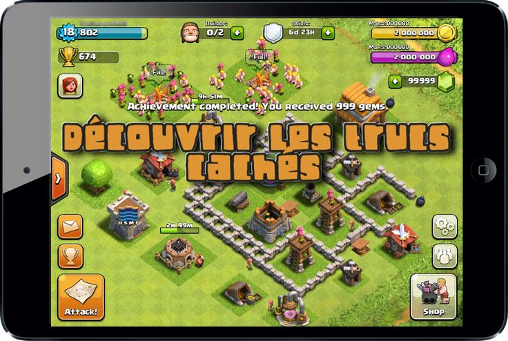 Astuce Clash Of Clan | Astuce Clash Of Clans Gemmes Illimites