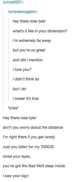 Hey There Delilah: Doctor Who Edition - I can't even...