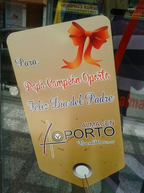 ALMACEN OPORTO: En #Cartago y #Pereira Celebramos El Día Del Padre, Feliz Día Papá