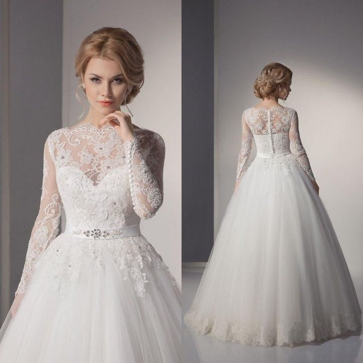 Plus Size Muslim Wedding Dresses Fashion