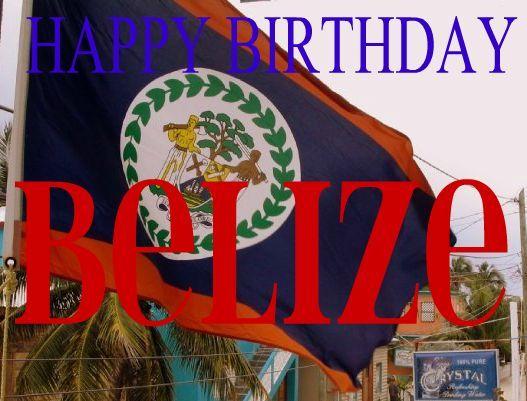 Images of Belize Flag | Western Belize Happenings!: September 2012