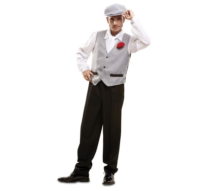 Disfraz de #chulapo o #madrileño para hombres. #SanIsidro #Madrid #FeriadeSanIsidro #Disfraz