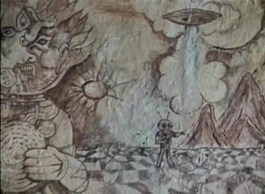 "Esta imagen está circulando como ""pintura rupestre"" cuando ..."