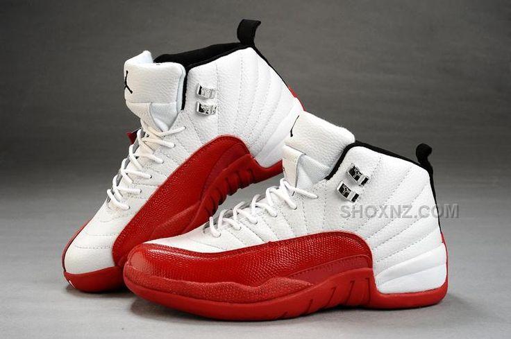 http://www.shoxnz.com/air-jordan-12-white-varsity-red-black.html AIR JORDAN 12 WHITE VARSITY RED BLACK Only $86.00 , Free Shipping!