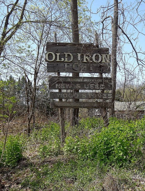 Old Sign In New Milford, CT